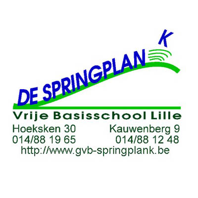 logo GVBS De Springplank Lille